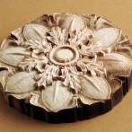 3D Wood Flower Design by Laser Engraving System