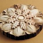 Conception de fleurs des bois en 3D par système de gravure au laser