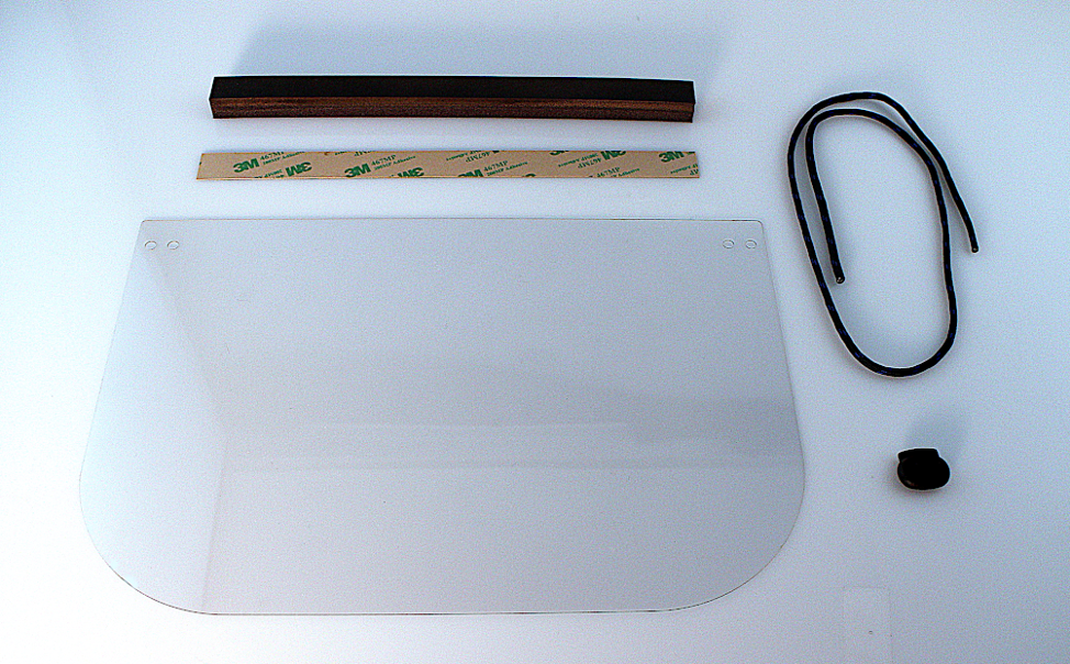 Face Shield Plastic Sheet