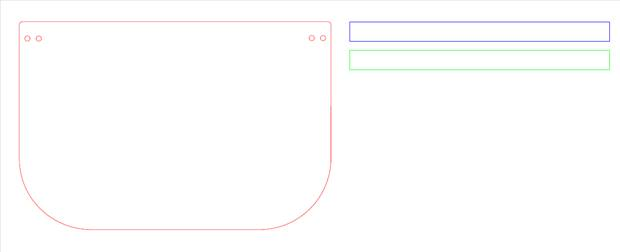 Face Shield Design File
