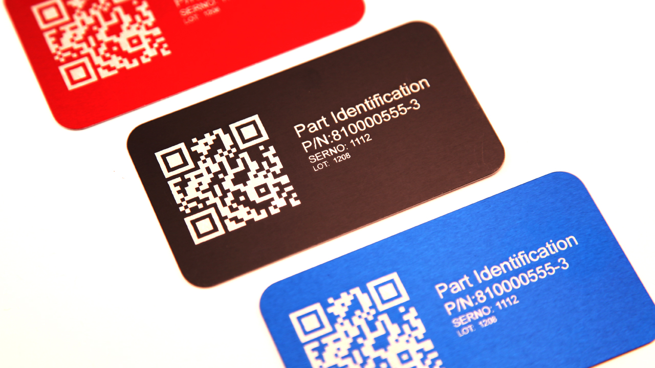 Anodized Aluminum Laser Marking Tags