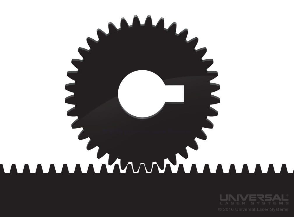 Découpe au laser de Delrin<sup>®</sup> avec un laser CO<sub>2</sub> 10,6microns