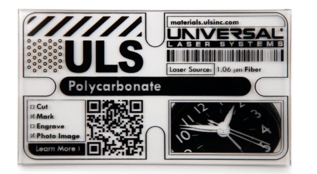 Lasermarkieren von Polycarbonat