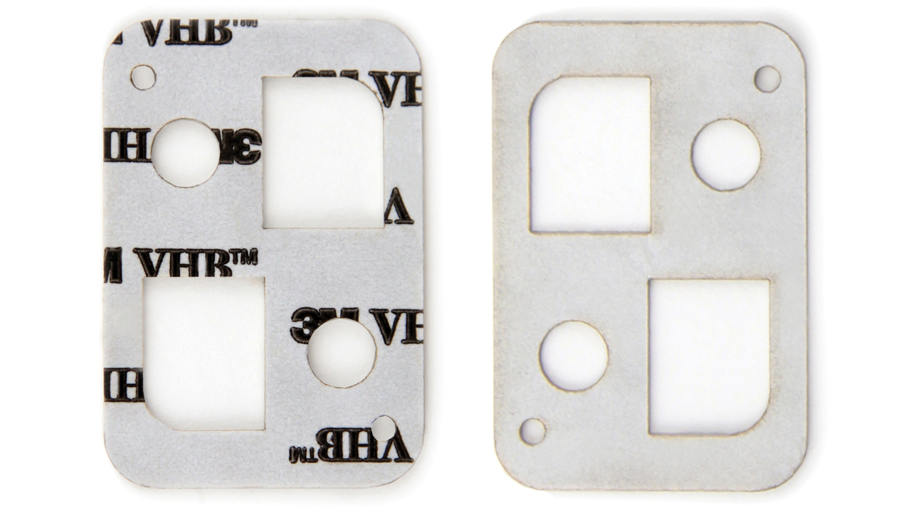 3M™ VHB™ Adhesive Tape Laser Cutting with a 10.6 micron CO<sub>2</sub> Laser