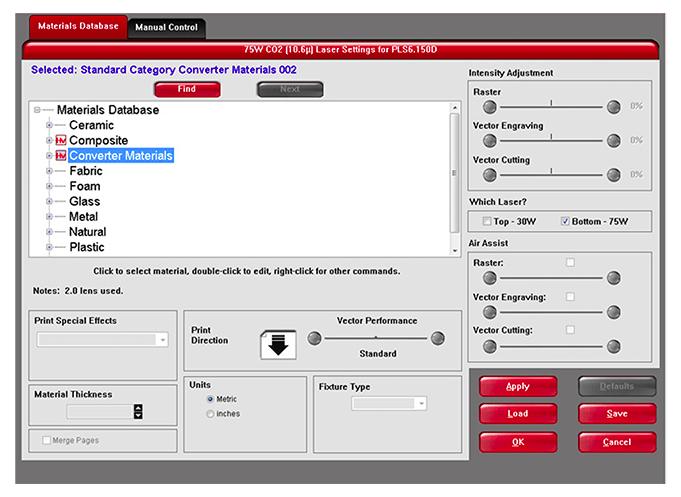 Material Database