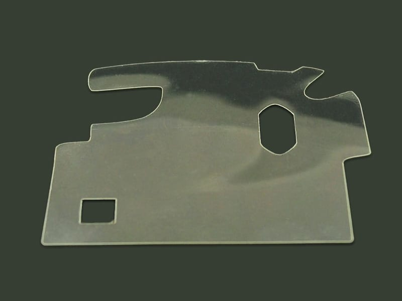 3M™ Protection Film Laser Cut into Simple Shape
