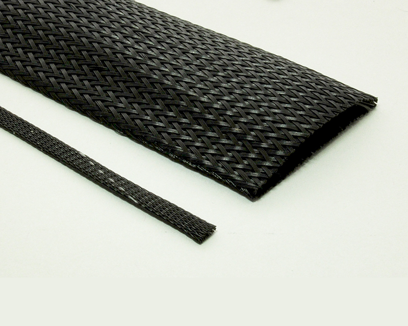 Halar® Thick Braided Sleeving Laser Cut