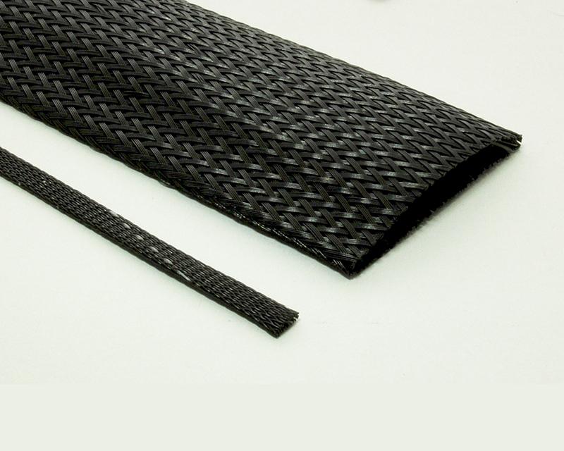 Halar® Thick Braided Sleeving Laser Cut