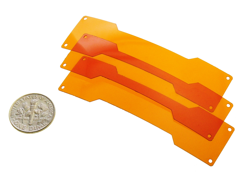 Kapton® Laser Cut into Electrical Wiring Heat Shields