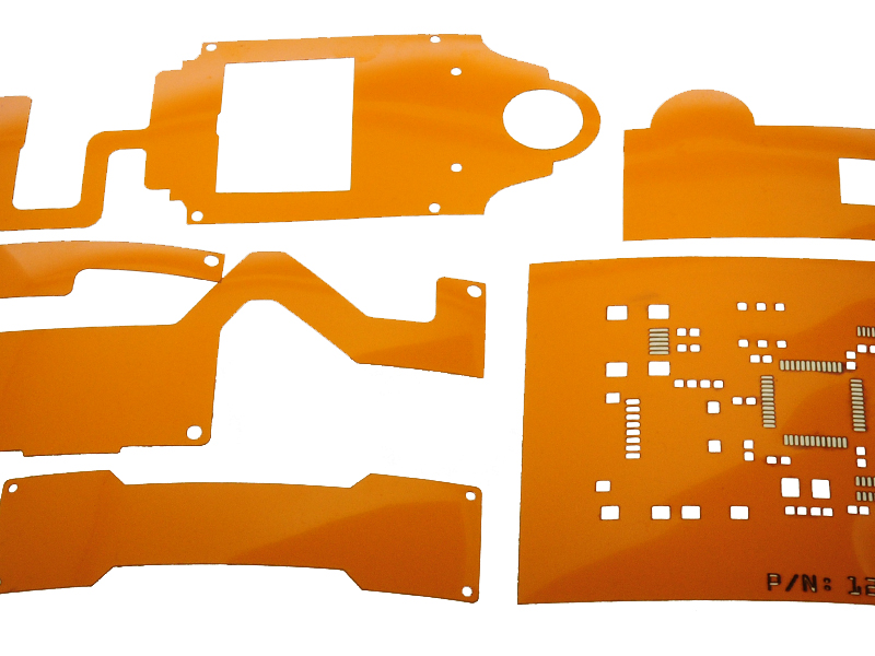 Kapton® Laser Cut into Various Shapes and Designs