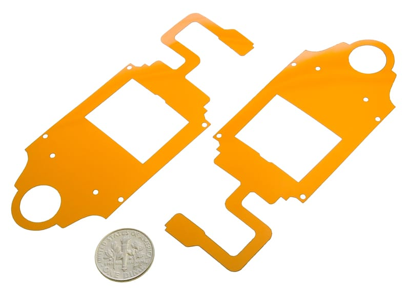 Kapton® Laser Cut into Electrical Insulators