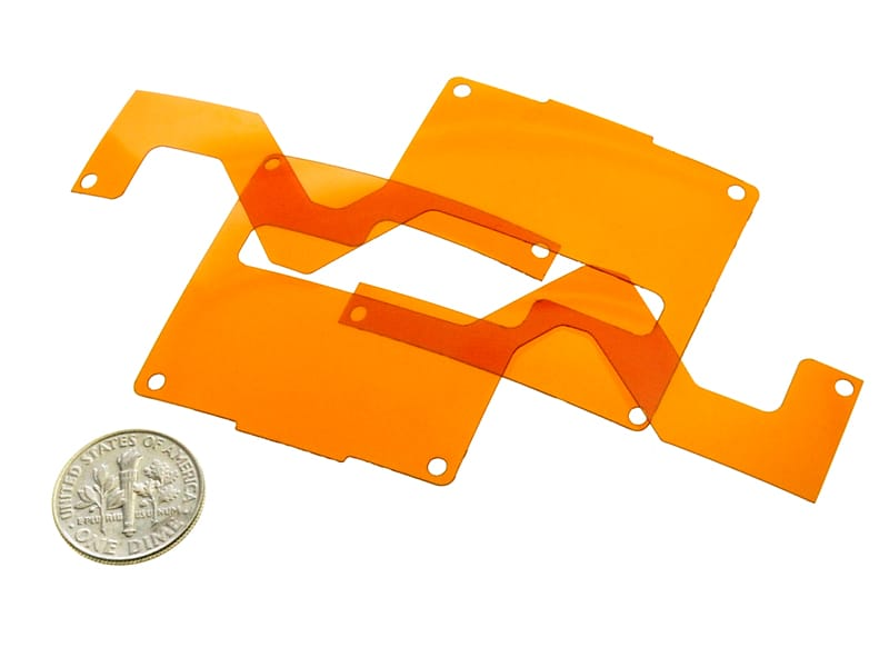 Kapton® Laser Cut into Printed Circuit Board Insulators