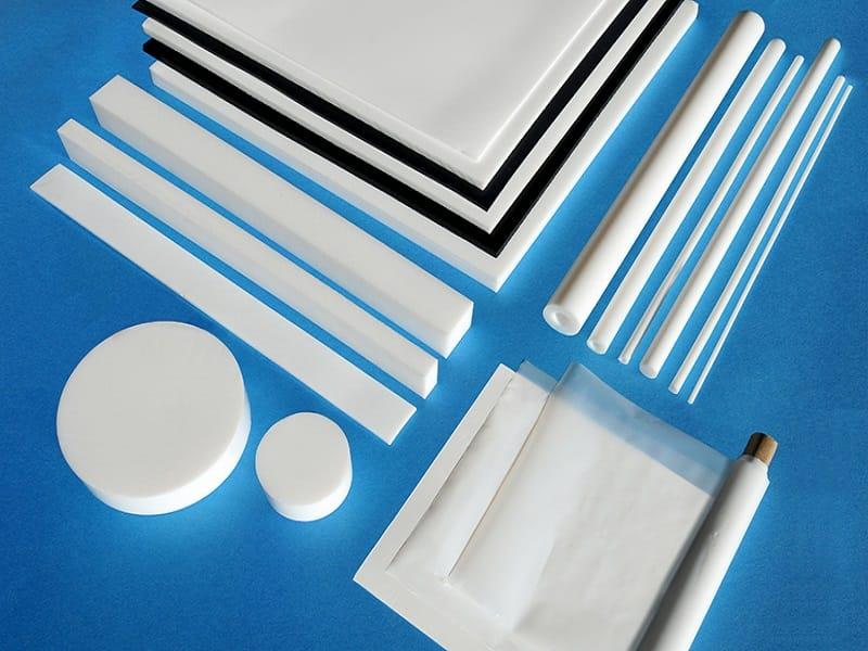 레이저 절단, 마킹, 제판에 적합한 여러 가지 Teflon® 조각