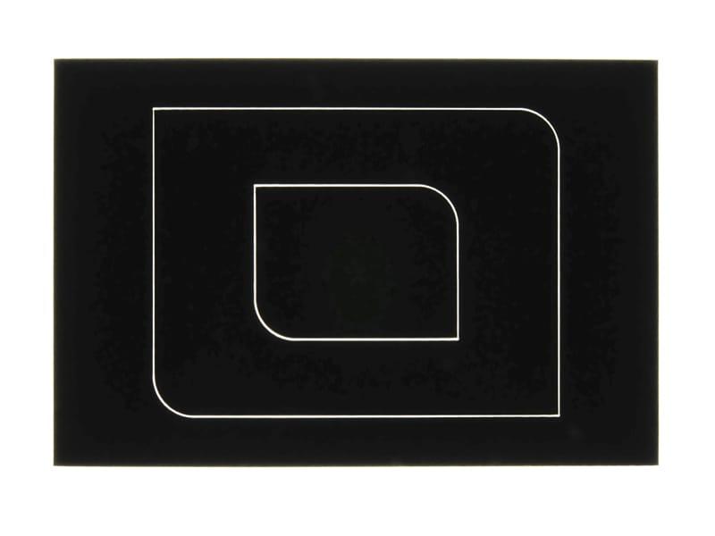 Viton® découpé au laser avec rétro-éclairage pour montrer la saignée
