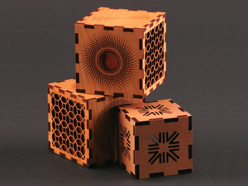 Laser Cut Wood Box Puzzles