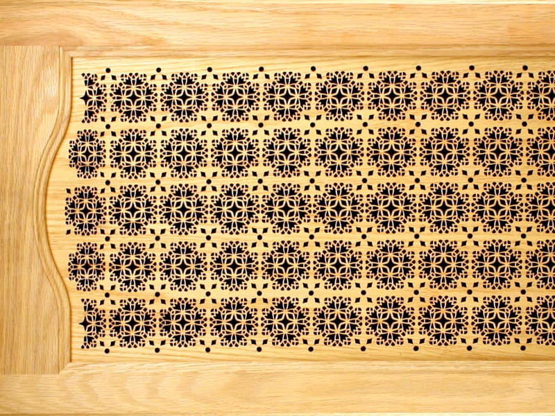 Laser Cut Wood Cabinet Door Panel Designs
