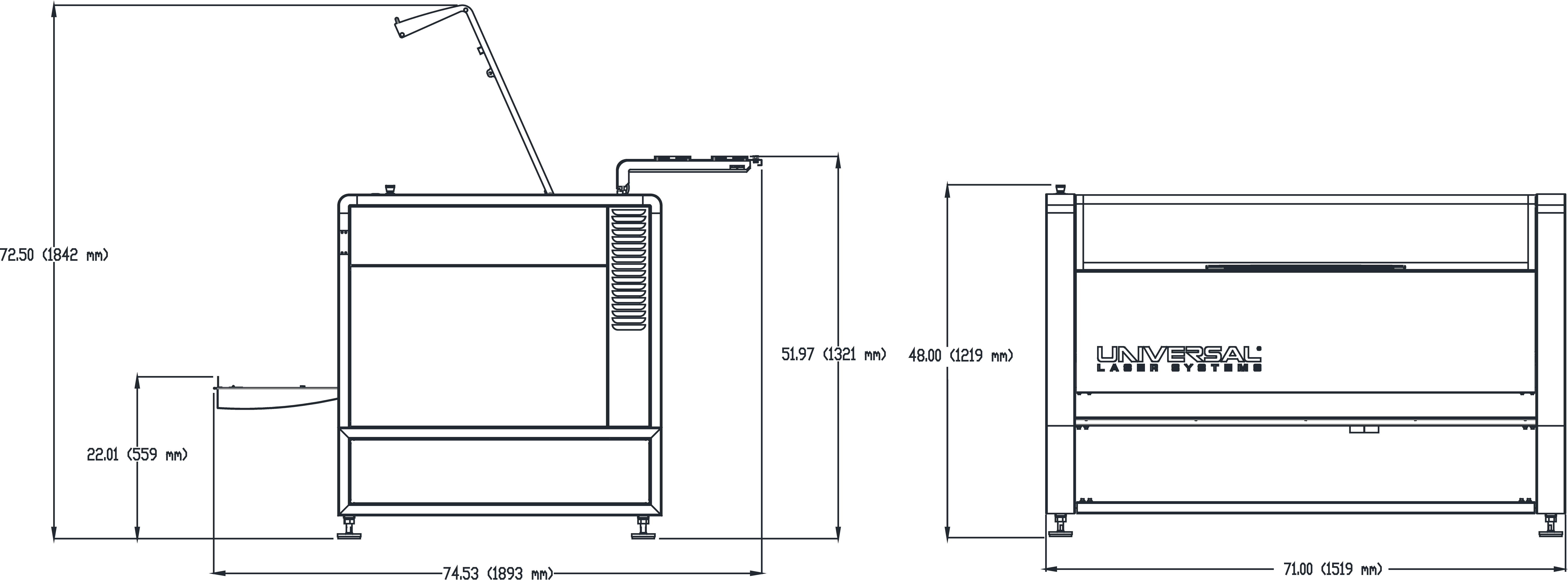 ULTRA R9000 Dimensional Drawing