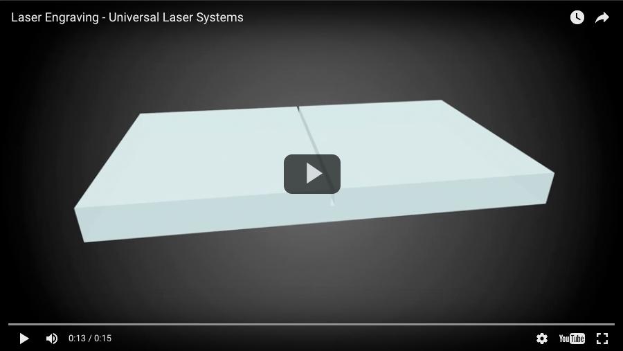 Gravure au laser 1
