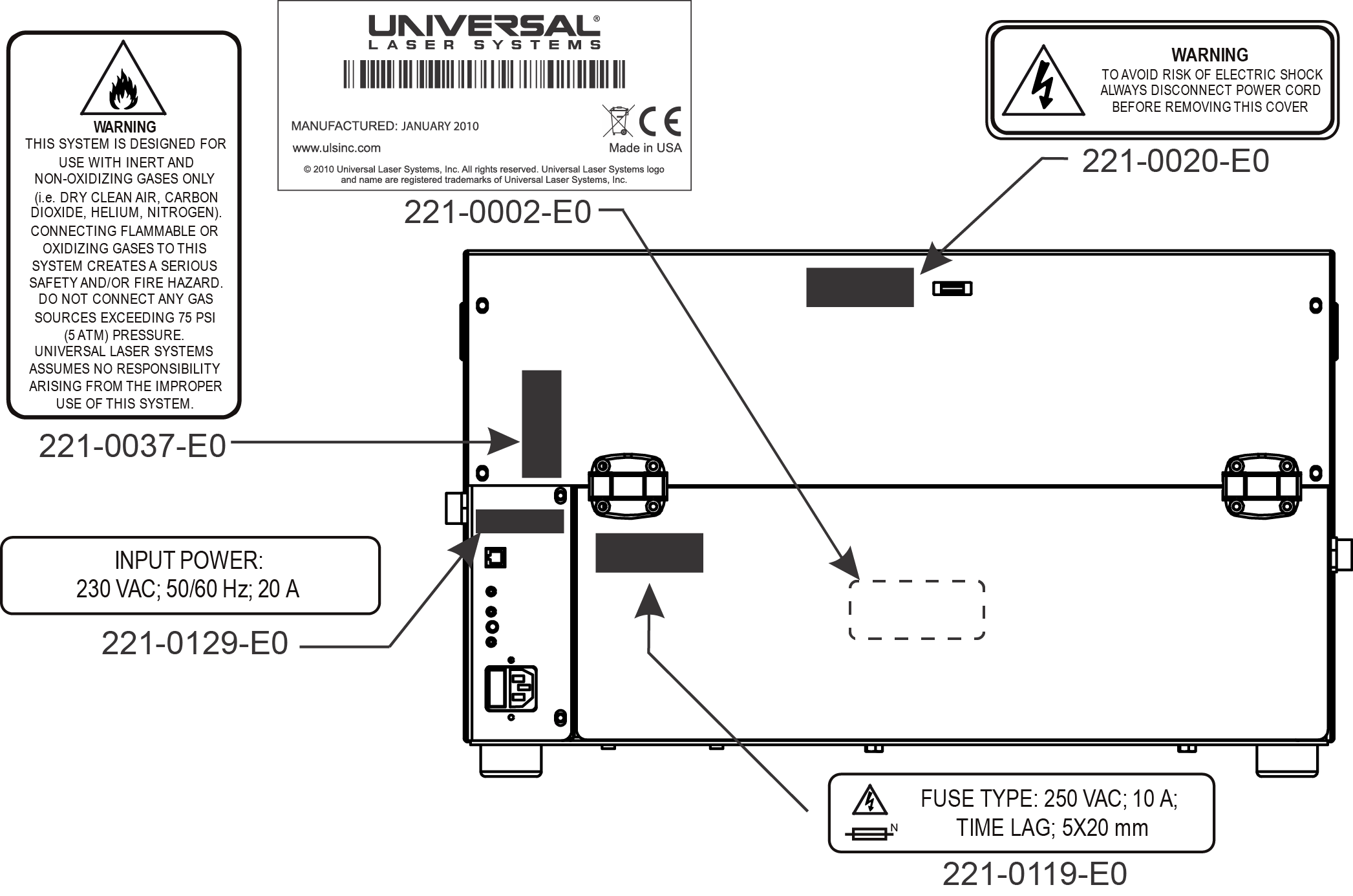 compressor_module_labels laser safety from universal laser systems Basic Electrical Wiring Diagrams at crackthecode.co