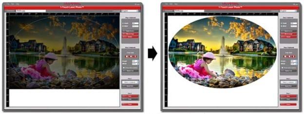 1 Touch Laser Photo تطبيق برمجي لحفر الصور بالليزر Ar Us